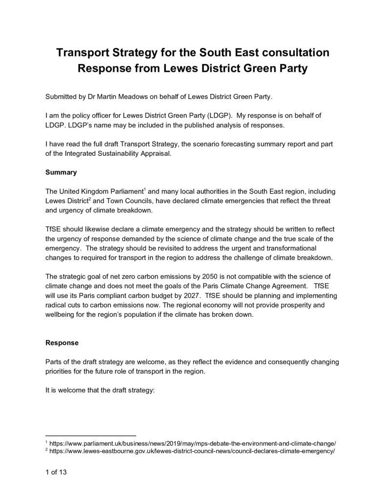 thumbnail of LewesDGrnPartyTfSEresponse